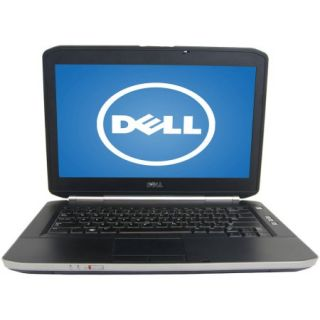 "Refurbished Dell Black 14"" E5420 Laptop PC with Intel Core i5 Processor, 6GB Memory, 256GB SSD and Windows 7 Home Premium"