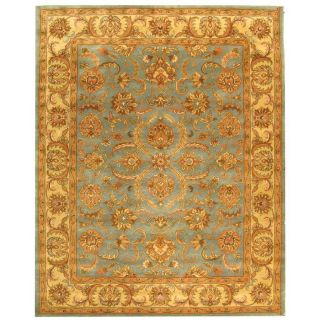 Safavieh Heritage Blue and Beige Rectangular Indoor Tufted Area Rug (Common 6 x 9; Actual 72 in W x 108 in L x 0.67 ft Dia)