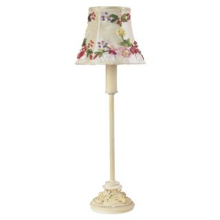 Dale Tiffany Jeweled Leaf 20 H Table Lamp with Empire Shade