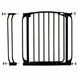 Dreambaby Swing Closed Security Gate Combo   Black