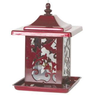 Hummingbird Seed Decorative Hopper Bird Feeder by Homestead/Gardner