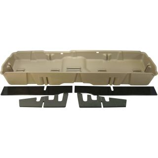 DU-HA Truck Storage System — Chevrolet/GMC Full-Size Heavy Duty Crew Cab, Fits 2007–2014 Models, Tan, Model# 10044  Interior Storage