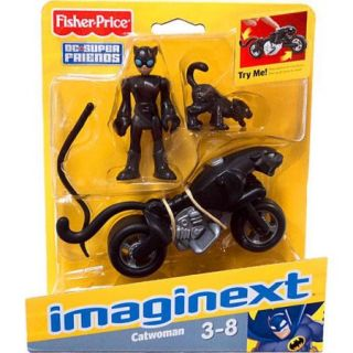 Fisher Price Imaginext DC Super Friends Cat Woman Action Figure Play Set