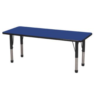 ECR4Kids 60 x 24 Rectangular Classroom Table