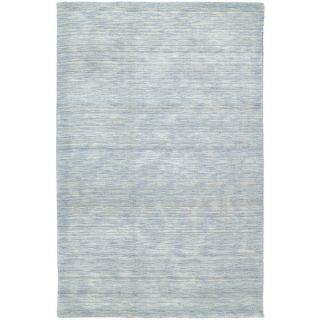 Gabbeh Hand tufted Light Blue Rug (76 x 9)   Shopping