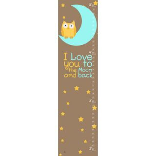Gray Animals Growth Chart by Green Leaf Art
