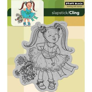 Penny Black Cling Rubber Stamp  Kisses   14272734