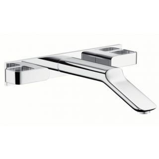 Hansgrohe 11043 Axor Urquiola Wall Mounted Widespread Faucet with Baseplate