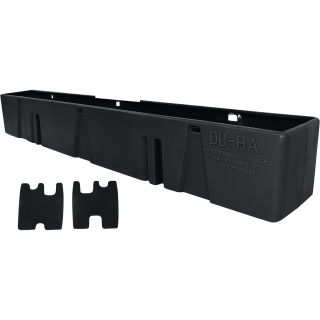 DU-HA Truck Storage System — Ford F-350 Super Duty Regular Cab, Fits 2008-2014 Models Without Subwoofer, Black, Model# 20054  Interior Storage