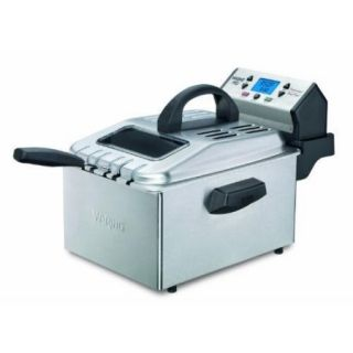 Waring df280 Pro New Deep Fryer   1 gal Oil / 2.30 lb Food   Brushed Stainless Steel