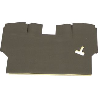 K & M Pre-Cut Foam Floor Mat Kit — For Case-International Harvester Tractors, Model# 4343  Tractor Cab Floor Mats