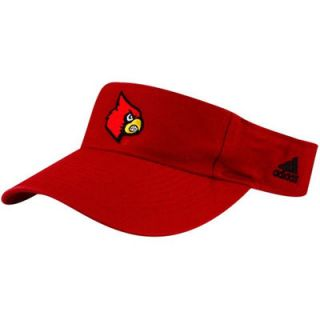 adidas Louisville Cardinals Red Basic Logo Adjustable Visor