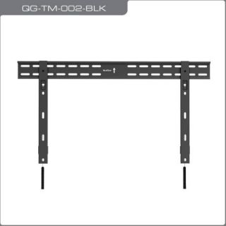 "QualGear QG TM OO2 BLK Universal Ultra Slim Low Profile Fixed Wall Mount for 37"" 70"" LED Flat Panel TVs"
