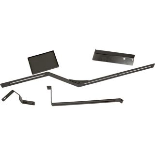 K & M Monitor Bracket — For Case International Harvester Tractors, Model# 3178  Tractor Monitor Brackets