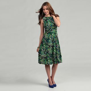 Jessica Howard Womens Blue/ Multi Ruched Dress   Shopping