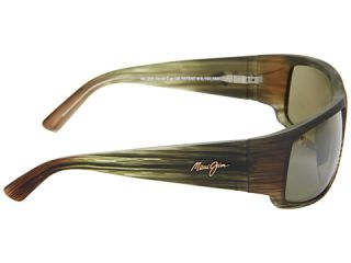 Maui Jim World Cup Matte Green Stripe Rubber/Maui HT