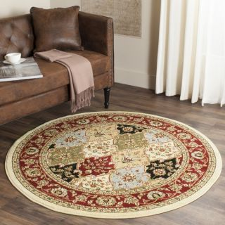 Safavieh Lyndhurst Collection Traditional Multicolor/Red Rug (33 x 5