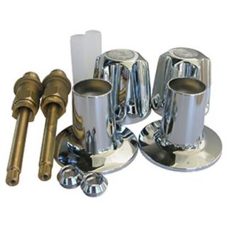LASCO Price Pfister, Two Valve, Verve, Tub & Shower, Trim Set, With Stems Model# 01 9171