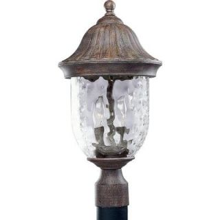 Progress Lighting Coventry Collection Fieldstone 2 light Post Lantern P5429 87