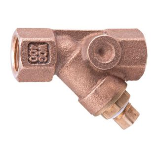 Watts 3/4 in Brass Female In Line Adapter
