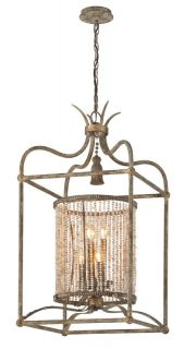 Troy Lighting F4046 Parisian Bronze / Gold Leaf Pendant Light   Build
