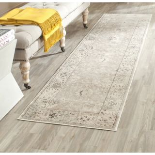 Safavieh Vintage Light Grey/ Ivory Rug (22 x 6)   17098242