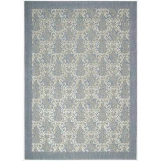 Barclay Butera Hinsdale Sky Blue Area Rug by Nourison (79 x 1010