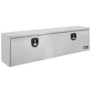 Buyers Products Company 24 in. Aluminum Recessed Door Underbody Tool Box with T Handle Latch 1705130