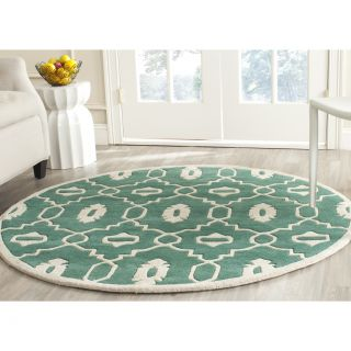 Safavieh Chatham Teal / Ivory Moroccan Rug