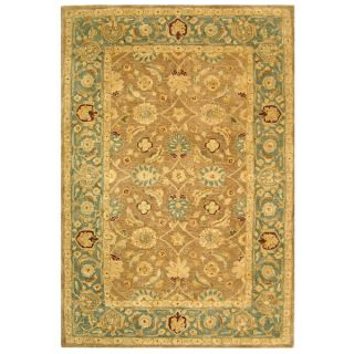 Safavieh Handmade Legacy Brown/ Blue Wool Rug (6 x 9)   12356723