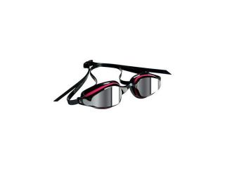 Michael Phelps K 180 Lady Goggles: Pink/Black with Mirror Lens