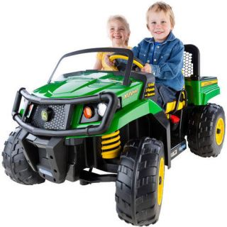 Peg Perego john deere gator XUV ride on