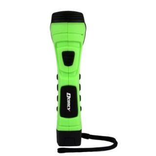 Dorcy CyberLight Weather Resistant LED Flashlight with Nylon Lanyard and True Spot Reflector, Green 41 4755