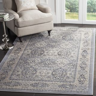 Safavieh Vintage Light Blue/ Ivory Rug (9 x 12)   18656983