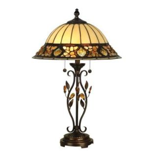 Radionic Hi Tech Nevaeh 27.00 in. Golden Sand Hand Rolled Art Glass Table Lamp DT_TL_TT90172_RHT