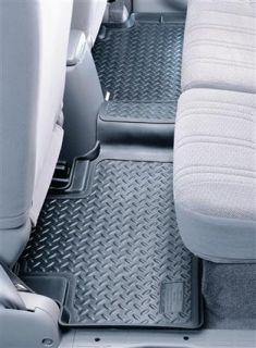 Husky Liners   Husky Liners Classic Style Floor Liners, Rear (Tan) 65203   Fits 2000 to 2004 Toyota Tundra Extended Cab Pickup