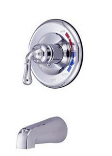 Kingston Brass KB631TO Polished Chrome Tub Faucet