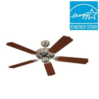 Sea Gull Lighting Quality Max 52 in. Brushed Nickel Indoor Ceiling Fan 15030 962