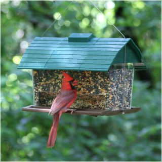 Perky Pet Seed Barn Hopper Bird Feeder