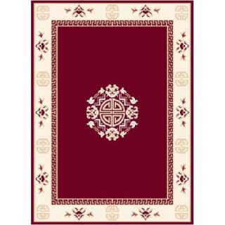Home Dynamix Premium Red Area Rug