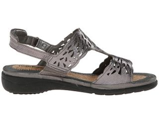 Hush Puppies Regina Keaton Dark Pewter Leather