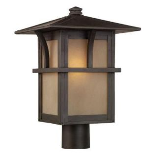 Sea Gull Lighting Medford Lakes 1 Light Statuary Bronze Outdoor Post Top 82880 51
