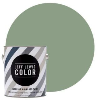 Jeff Lewis Color 1 gal. #JLC313 Skinnydip Quarter Gloss Ultra Low VOC Interior Paint 301313