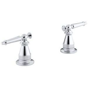 Kohler K T135 4 CP Antique Polished Chrome Handles