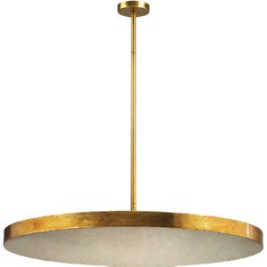 Dimond Lighting DMD 1141 016 Laigne Gold Leaf  Pendants Lighting