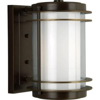 Progress Lighting Penfield Collection Oil Rubbed Bronze 1 light Wall Lantern P5896 108