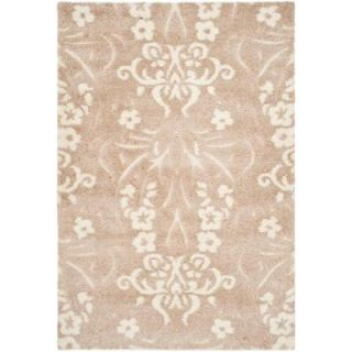 Safavieh Florida Shag Beige/Cream 8 ft. 6 in. x 12 ft. Area Rug SG457 1311 9