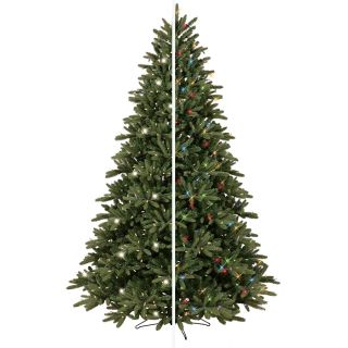 GE 7.5 ft Pre Lit Frasier Fir Artificial Christmas Tree with Color Changing LED Lights