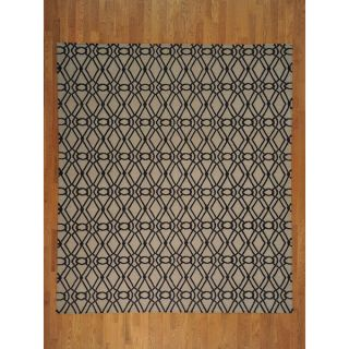 Hand woven Wool Flat Weave Reversible Hand Woven Durie Kilim Rug (9 x