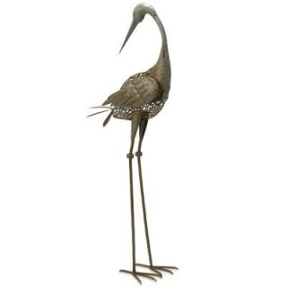 National Tree Company 35 in. Garden Accents Crane Decoration GAC30 35AG B